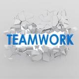 Affär teamworkcncept Royaltyfri Bild