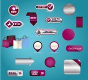 Affären knäppas mega-packen Du kan använda det för Arkivbild