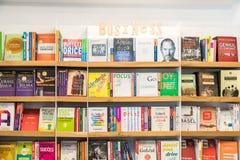 Affärs- och finansböcker Royaltyfri Foto