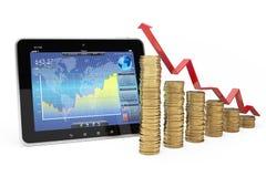 Affärs- och finansbegrepp Arkivbild