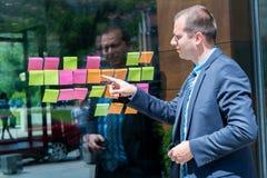 Affärs-, start-, planläggnings-, ledning- och folkbegrepp - slump arkivfoto