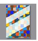 Affärsbakgrundsreklamblad vektor Arkivbilder