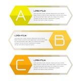 Affärsbaner för rengöringsdukdesign som är idérikt för website Arkivbild