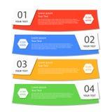 Affärsbaner för rengöringsdukdesign som är idérikt för website Royaltyfri Foto