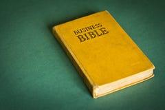 Affärsbibel Arkivbild