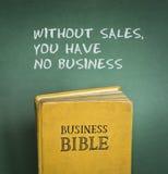 Affärsbibeln härskar Royaltyfria Bilder