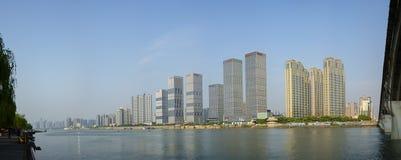 Affärsbyggnad i Changsha, Kina royaltyfria foton
