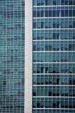 Affärsbyggnadsfönster Royaltyfria Foton