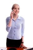 affärscelltelefon Fotografering för Bildbyråer