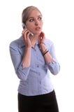 affärscelltelefon Arkivfoton