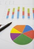Affärsdataanalys fotografering för bildbyråer