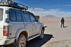 Affärsföretagtur nationell reserv för andean avaroaeduardo fauna _ Royaltyfri Fotografi