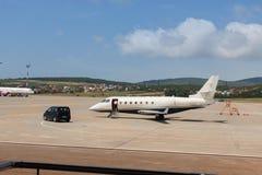 Affärsflygplan Royaltyfri Fotografi