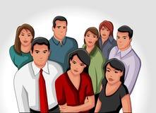 Affärsfolk 向量例证