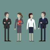 Affärsfolk begrepp vektor illustrationer