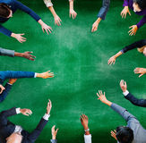 Affärsfolk som möter arbetande Team Teamwork Concept Royaltyfri Foto