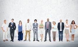 Affärsfolk Team Connection Togetherness Concept Royaltyfri Fotografi