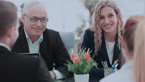 Affärsfolk Team Teamwork Cooperation och partnerskap Concep Royaltyfri Fotografi