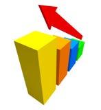 affärsgraf vektor illustrationer