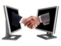 affärshandshake Fotografering för Bildbyråer