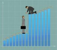 Affärshjälp stock illustrationer
