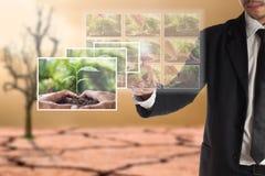 Affärsidé av CSR eller företags socialt ansvar Royaltyfri Fotografi