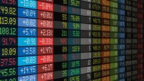 Affärsidé för börsmarknad stock illustrationer