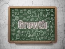 Affärsidé: Tillväxt på skolförvaltningbakgrund Arkivbilder
