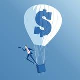 Affärsidéinvestering och sökande stock illustrationer