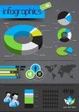 affärsinfographicsvektor