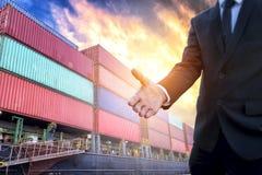 Affärsinvestering i internationell handel royaltyfri bild