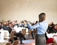 Affärskonferens arkivbilder