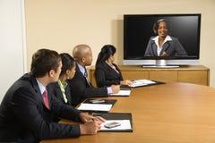 affärskonferens Arkivbild