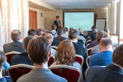 Affärskonferens royaltyfria foton