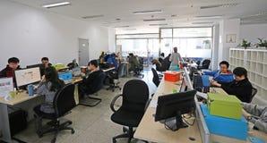 Affärskontor Arkivbild
