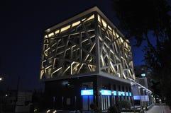 Affärskontorsbyggnad i Limassol, Cypern Royaltyfria Bilder