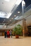 affärskorridor Fotografering för Bildbyråer