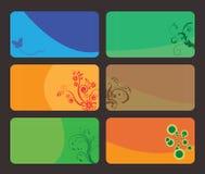affärskort stock illustrationer