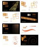 affärskort royaltyfri illustrationer