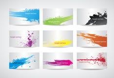 affärskort Fotografering för Bildbyråer
