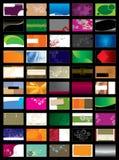 affärskort Arkivbilder