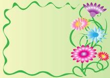 Affärskort eller vykort Arkivfoton