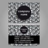 Affärskort för företag Arkivbild
