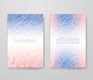 Affärskort med moderiktiga färger Arkivfoton