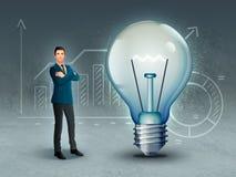 Affärskreativitet och innovation arkivfoto