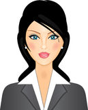 affärskvinna vektor illustrationer