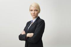 Affärskvinna. Arkivbild