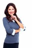 Affärskvinna. Royaltyfri Foto