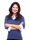 Affärskvinna. royaltyfria bilder
