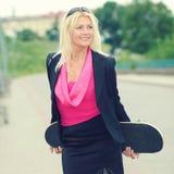 Affärskvinna Arkivfoto